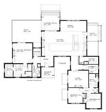 floor plan of a one story house. House Plans One Story Open Floor Luxury E . Plan Of A O