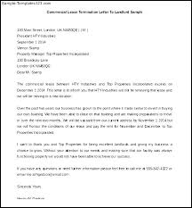 10 Lease Termination Letter To Landlord Sample