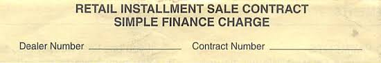 Fine Print Explained: Car Sale Contracts - Alabama Consumer Rights ...
