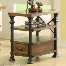 chair side table with rack great tables with regard to incredible property chair side table ideas