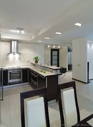image modern kitchen lighting. kitchen idea of the day modern twotone with unique ceiling lighting image h