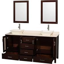 Double Bathroom Sink Cabinet Bathroom Sink And Vanity Unit Bathroom Awesome Oak Wood Floating