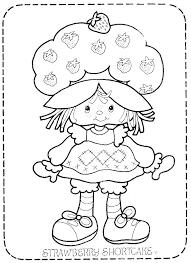 vine strawberry shortcake color pages google search