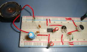 lm386 audio amplifier circuit diagram lm386 based audio amplifier circuit