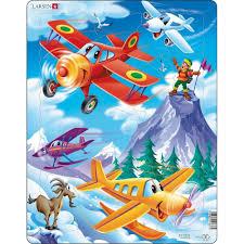 Detske Puzzle 100 Dilku Letadla Levně Blesk Zboží