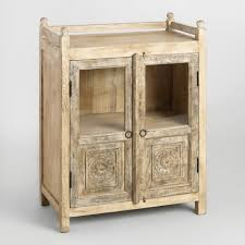 antique cabinet doors. distressed antique cabinet with glass doors