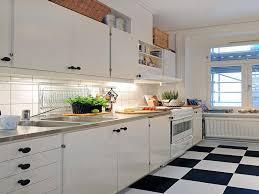 black and white tile floor kitchen. Modern Style White Tile Floor Tiles Black And Inspirations Kitchen