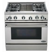 Gas Range With Gas Oven Dcs Ranges 36 Inch Natural Gas Range With Grill By Fisher Paykel