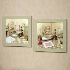 touch to zoom on wall art set of 3 bathroom with garran bathroom washtub framed wall art set