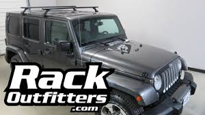 off road unlimited roof racks jeep wrangler unlimited hard top with thule aeroblade roof rack