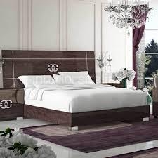 modern italian furniture. prestige umber birch modern italian bedroom set with contemporary handle furniture