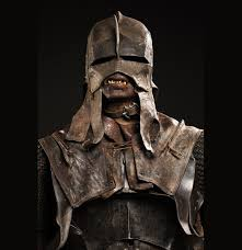 weta original of the uruk hai scout s helmet used as a reference weta original of the uruk hai scout s helmet used as a reference