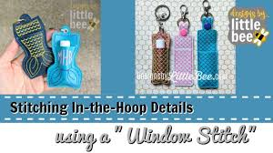 Lip Balm Holder Embroidery Design