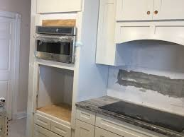 kitchen oven wall microwave too high