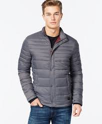 Kenneth Cole Quilted Puffer Hipster Jacket - Coats & Jackets - Men ... & Kenneth Cole Quilted Puffer Hipster Jacket Adamdwight.com