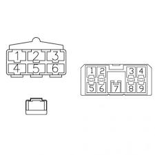 kubota radio wiring harness wiring diagram schematics • radio wiring harness kubota m8200 m6800 m5700 m9000 m4900 rh tractorpartsasap com kubota b2650 radio wiring diagram kubota radio wiring diagram