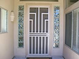 front door securityFront Doors  Security Screens Door Ideas Front Door Security