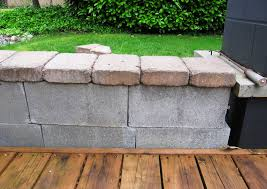Seating Wall Blocks Remodelaholic Beautifying Concrete Block Guest