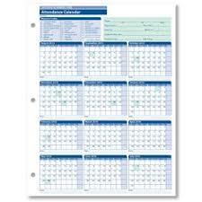 Employee Attendance Calendar Template 2015 Magdalene