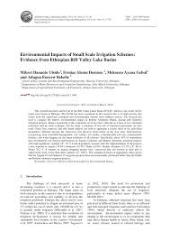 Ethiopian Construction Design And Supervision Works Corporation Website Pdf Environmental Impacts Of Small Scale Irrigation Schemes