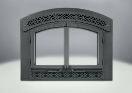 cast iron grate for fireplace complete arched cast iron double doors arched heritage inset painted black