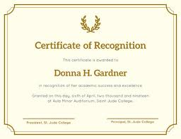certificate of recognition templates customize 204 recognition certificate templates online canva