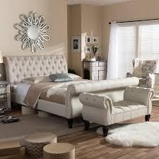 king bedroom sets. Baxton Studio Arran 2-Piece Beige King Bedroom Set Sets C