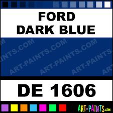 Ford Dark Blue Engine Enamel Paints De 1606 Ford Dark
