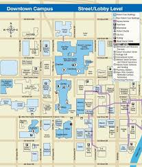 Mayo Clinic Downtown Rochester Mn Campus Map Street Lobby