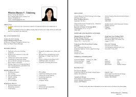 Sample Of Resume Of Domestic Helper Perfect Resume Format