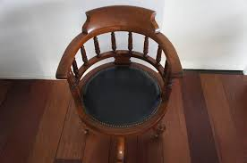 very stylish and stunning desk chair this handmade rotating armchair is best known as