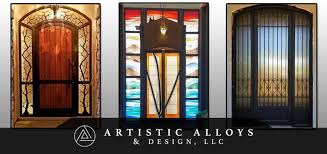 custom wrought iron entry doors 1