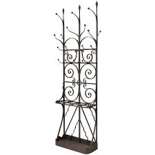 Iron Coat Rack Stand Coat Racks extraordinary wrought iron coat rack Wrought Iron Coat 52