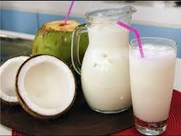 Resultado de imagen de jugo de coco