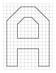 Alphabet Letters On Graph Paper Kirche Oberoderwitz De