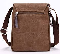 berchirly small vintage canvas leather messenger cross bag pack organizer for travel hiking climbing
