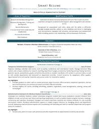 samples smartresume administrative support administrative support resume sample