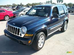 2005 Jeep Liberty Limited in Midnight Blue Pearl - 536332   Jax ...