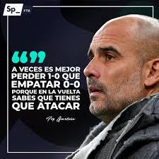 Pep Guardiola : libro Pep Guardiola capaz remontar motivación extra derrota  ida | Sphera Sports