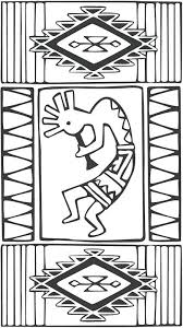 Southwestern Native Coloring Page Coloring Native Southwestern