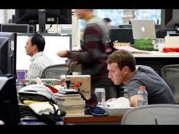 mark zuckerberg live video at facebook hq introducing new facebook office inside build office video