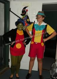 Small Picture Coolest Pinocchio and Jiminy Cricket Couple Costume Jiminy