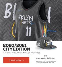 Posted by 7 months ago. The Nba Store New Today Nets City Edition Milled