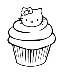 Small Picture A Delicious Cupcake Coloring Pages Cookie Coloring Pages Girls