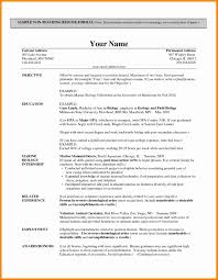 Excellent Ideas Resume Format For Teachers 10 Cv Format Teachers Job