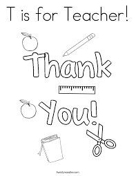 Teacher Appreciation Day Coloring Pages 2741754