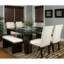 dining room tables chairs square: kemper square dining room set ivory