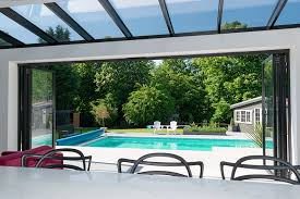bifold doors and atlas glass roof