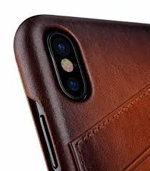 melkco elite series premium leather face cover back slot case for apple iphone x