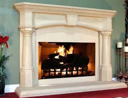 Traditional Fireplace Mantel  Limestone  THE METRO  ChesneyLimestone Fireplace Mantels